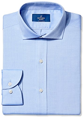 Buttoned Down Cutaway Collar Solid Non Iron product image