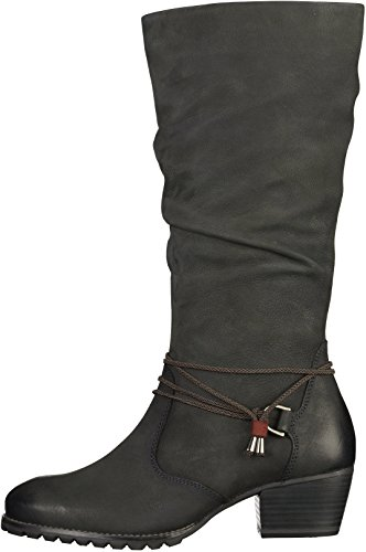 Long Women's Tamaris 25531 Boots Navy xHwRZwqC