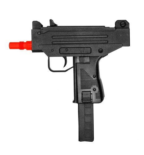 (well d93 airsoft full size uzi style auto electric pistol(Airsoft Gun))