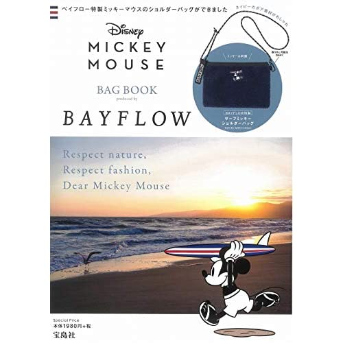Disney MICKEY MOUSE BAG BOOK 画像