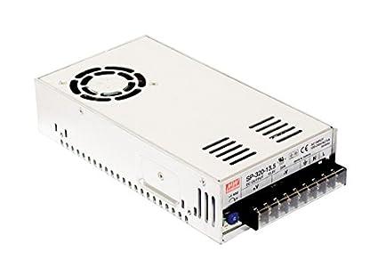 Mean Well SP-320-15 Power Supply, Single Output, 15 Volt, 20 Amp, 300 Watt,  8 5