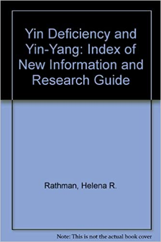 Descarga gratuita del libro de la selva Yin Deficiency and Yin-Yang: Index of New Information and Research Guide by Helena R. Rathman PDF 0788326104