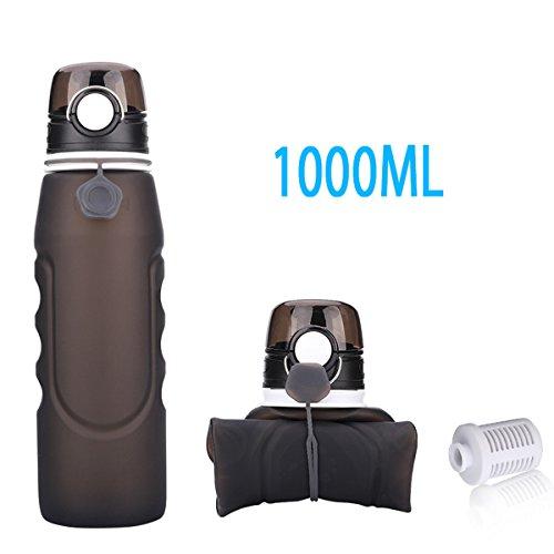 1 Liter Collapsible Water Bag - 4