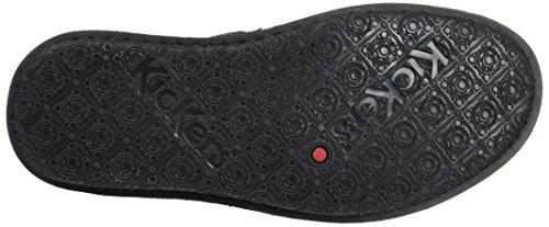 Kickers Wouaso, Zapatillas de Estar por Casa para Mujer Noir (Noir Multico)