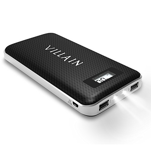 Villain   20000mAh portable Charger   utilizing Inbuilt