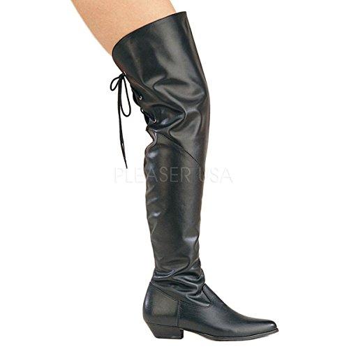Funtasma - Zapatos de vestir de material sintético para mujer negro negro 39