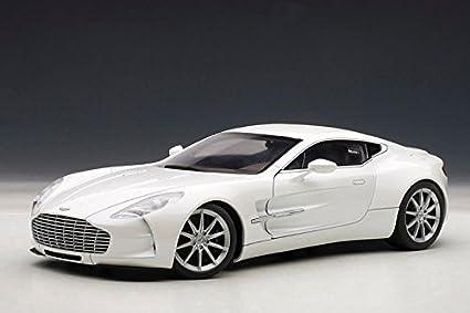 Buy Miniature Model Zone Aston Martin One 77 Car White Online At