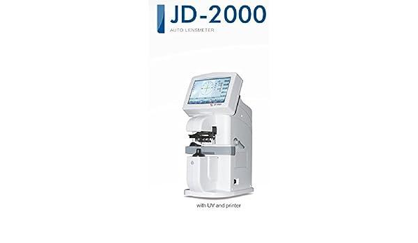 JD-2000 - Lensómetro digital con pantalla táctil LCD: Amazon.es ...