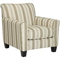 Signature Design by Ashley 5190221 Larynx Chair, Khaki