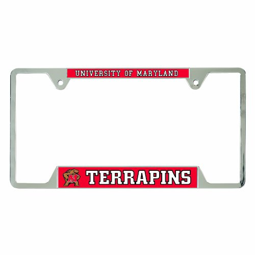 WinCraft NCAA Maryland Terrapins License Plate Frames, 21463010 ()