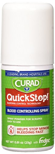 CURAD QuickStop Blood Spray, 1.69 oz (1 count)