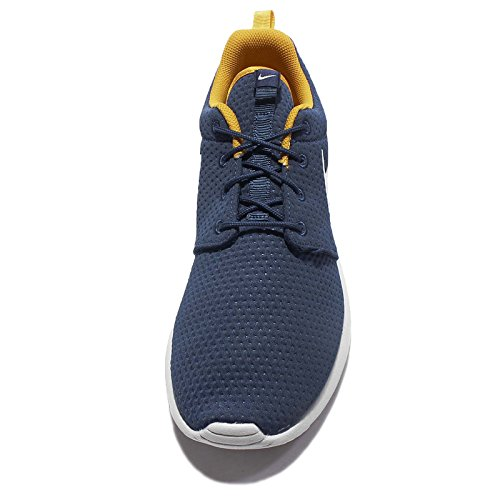 Nike Heren Roshe Één Sneaker (11, Aan De Kust Blauw Zuiver Platina-bladgoud /)