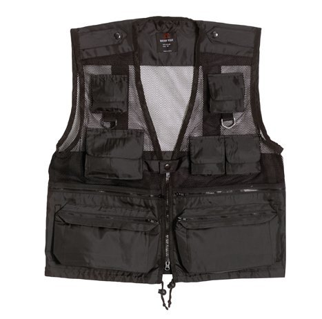 - Rothco Recon Vest, Black, X-Large