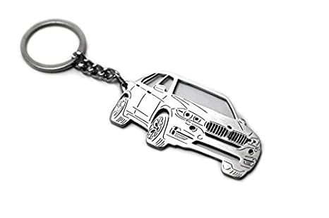 Amazon Com Stainless Steel Keychain Suitable For Bmw X5 F15 Laser
