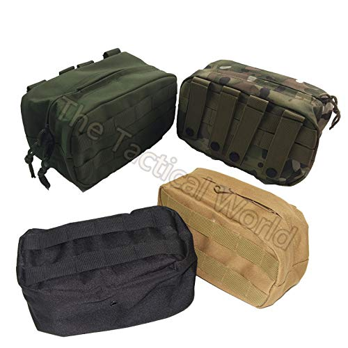 Best Quality - Pouches - Outdoor Tactical Horizontal Molle Pouch Waist Pack Tactical Emergency Survival Pockets Recovery Camping Airsoft Tool Pouch Gear - by DINAX - 1 ()