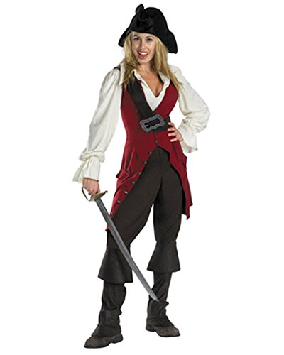 [Pirates of the Caribbean Elizabeth Swann Adult Costume] (Deluxe Adult Elizabeth Costumes)