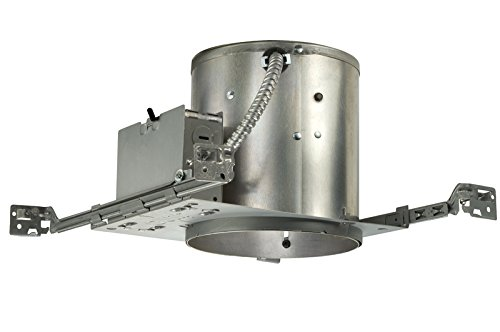 (Juno Lighting IC22W Contractor Select 6-Inch IC Rated Universal Incandescent Housing with Quickwire)