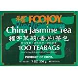 Foojoy Chinese Jasmine Green Tea – 100 Tea Bags (Pack of 1) Review