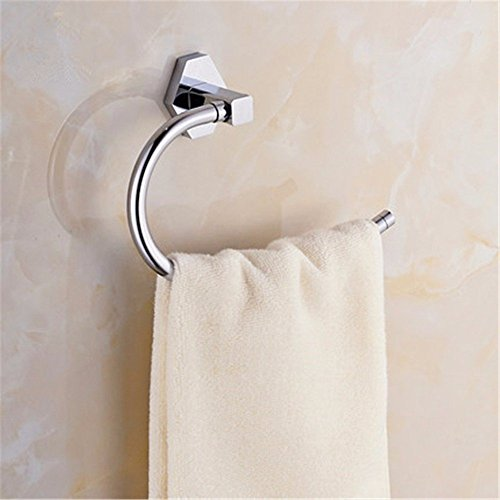 HOMEE Bathroom All Copper Towel Ring Bathroom Towel Rack by HOMEE