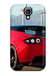 Best 4650611K30686581 Tpu Shockproof/dirt-proof Tesla Roadster 3 Cover Case For Galaxy(s4)