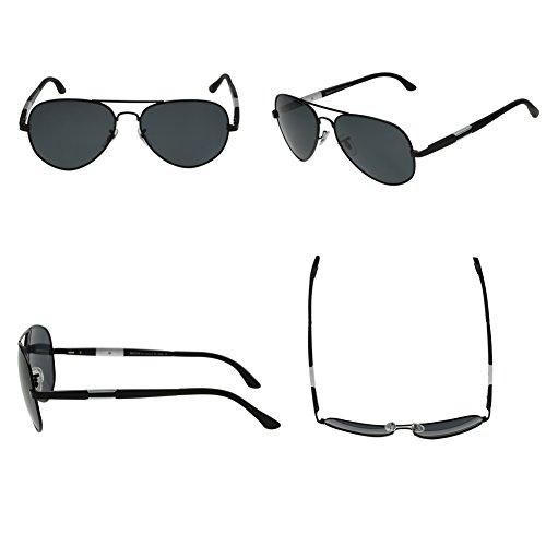 Duco Gafas para de Negro sol hombre rOqrw8x0