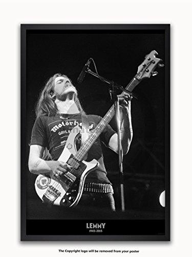 Posters UK Lemmy - Motorhead - FRAMED POSTER