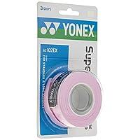 Sobregrip Yonex Super Grap - paquete de 3 en rosa francés