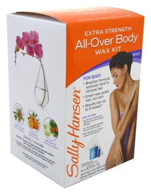 Sally Hansen All Over Body Wax Hair Removal Kit 5037