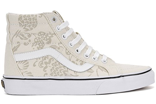 Classic Skateboard Shoe - Vans Unisex Sk8-Hi Reissue (50th) Duke/Classic White Skate Shoe 7.5 Men US / 9 Women US