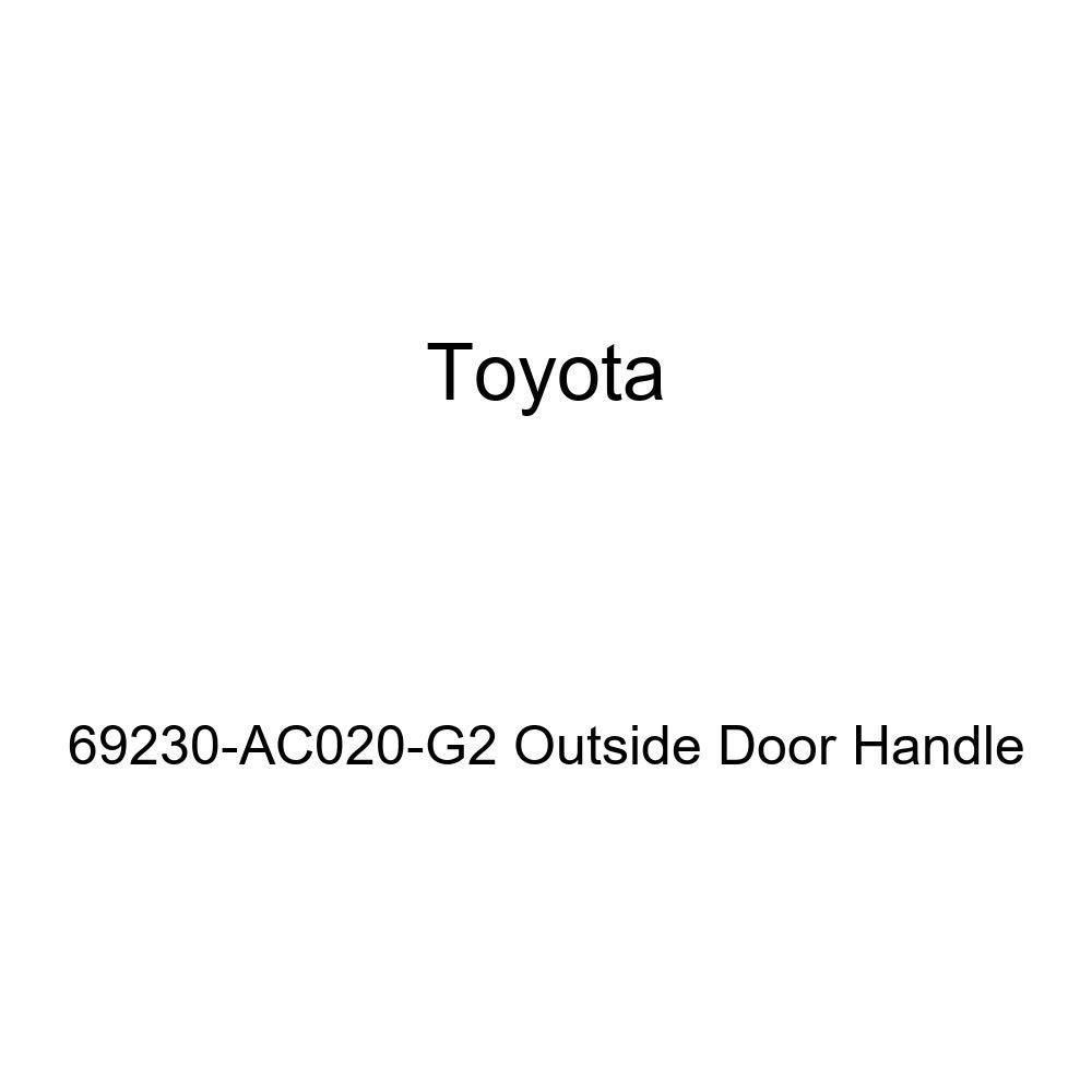 Toyota 69230-AC020-G2 Outside Door Handle