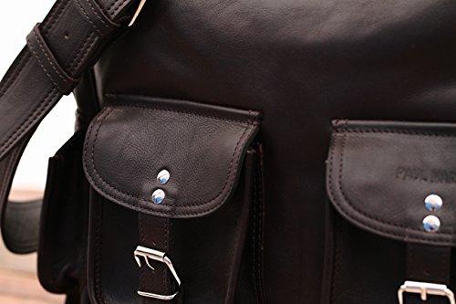 Borsa (A4) Colore INDUS (M) borsa pelle vintage, la borsa a spalla, borsa a tracolla, PAUL MARIUS, Vintage & Retro