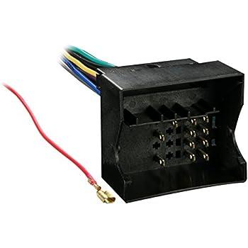 metra 70-9003 radio wiring harness for audi/bmw/vw 2002-up