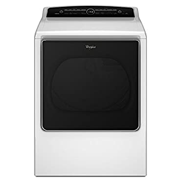 Whirlpool WED8500DW 29 White Front Load Electric Dryer