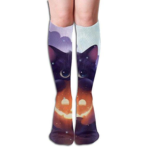 教育学回想いうかわいい猫 3D印刷デザイン 女性の男性 秋と春 フリースタイルのデザインソックス ファッションかわいい 弾性 薄型 靴下 高校生 ティーンエージャー フォーシーズンズ
