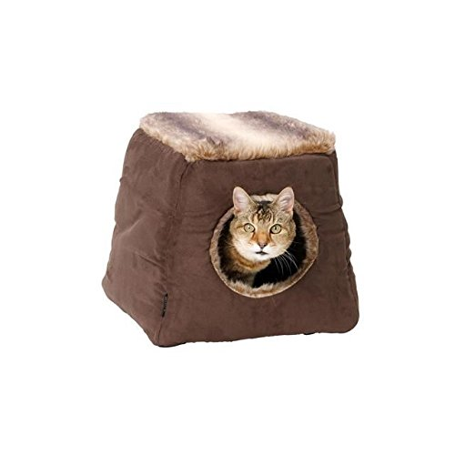 House of Paws Faux Arctic Suede 2 in 1 Cat Bed (confezione da 4)
