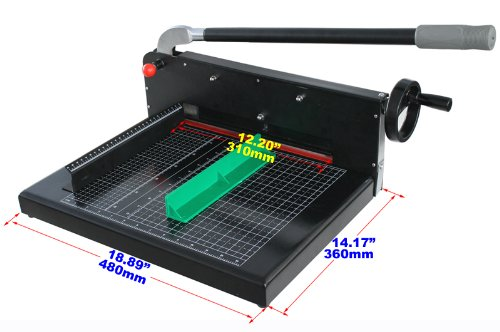 Brand New Heavy Duty All Steel 12.2in A4 Stack Paper Cutter Guillotine Trimmer by STACK S12 Paper Cutter