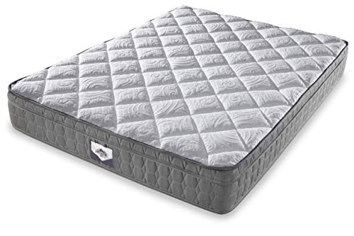 Denver 326394 Queen Size RV Supreme Euro Top Mattress White