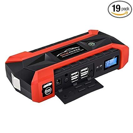 Amazon.com: JX29 Portable Car Battery Jump Starter, Waterproof Jump