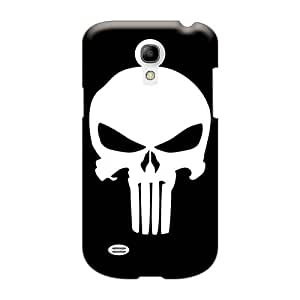 Scratch Protection Hard Phone Case For Samsung Galaxy S4 Mini With Unique Design Vivid Punisher Logo Image LavernaCooney