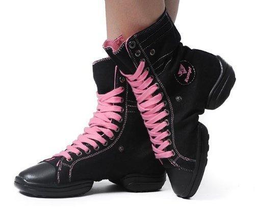 Rumpf - Zapatillas de danza para mujer - - black / pink