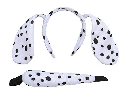 [Children's Dalmatian Ears & Tail Set] (Dalmatian Ears)