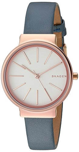 Skagen Women's SKW2482 Ancher Blue Leather Watch