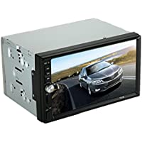 ODGear Single Din In Dash Car Stereo MP5 Player Radio USB/TF MP3 Stereo Audio Receiver Bluetooth FM Radio (2 Din)