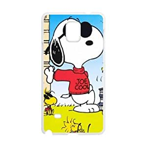 Samsung Galaxy S4 Phone Case White Charlie Brown and Snoopy VLN1134938