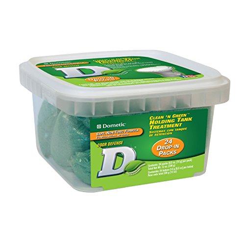 Dry Holding Tank Deodorant - Dometic D1114001 Clean 'n Green Dry Holding Tank Deodorant