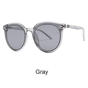 ZHOUYF Gafas de Sol Gafas De Sol Redondas De Gran Tamaño ...