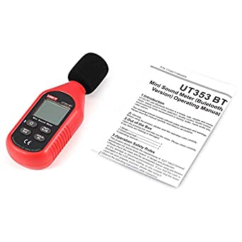 iUcar UNI-T UT353BT Bluetooth Digital LCD Mini Sonido Medidor de Nivel de Ruido Detector de Volumen de Audio Decibel Monitoreo Tester 30-130dB: Amazon.es: ...