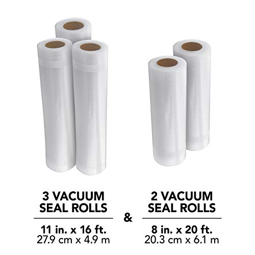 FoodSaver 8 and 11 Vacuum Seal Rolls Multipack