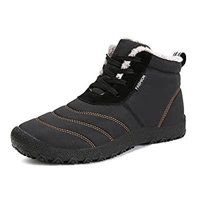 Amazon.com: Mens Womens Snow Boots Winter Waterproof Shoes