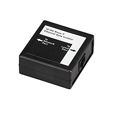 Black Box Ethernet Data Isolator - 10BASE-T/100BASE-TX